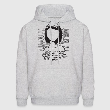 Joy Division Confusion In Her Eyes Retro Vintage H - Men's Hoodie