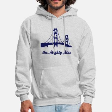 Bridge Mackinac Bridge - Men's Hoodie