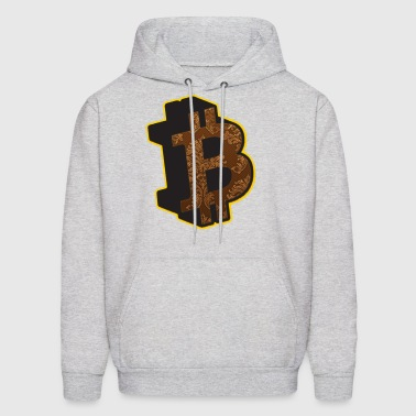 Bitcoin Bitcoins Rothbard Anarchy Anarchism A - Men's Hoodie
