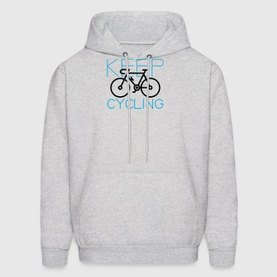 Cycle Your Bike and Ride a Bicycle Often Keep Cycl - Men's Hoodie
