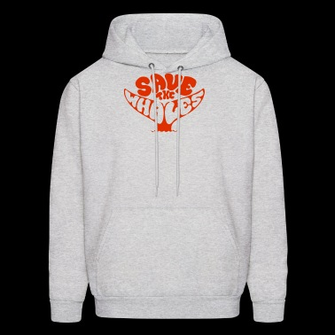 Save the Whales - Men's Hoodie