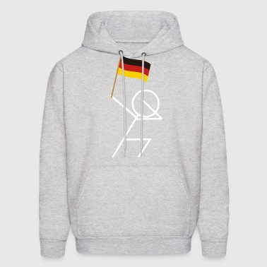 DAB Dabbing Germany Flag Deutschland Soccer 2018 - Men's Hoodie