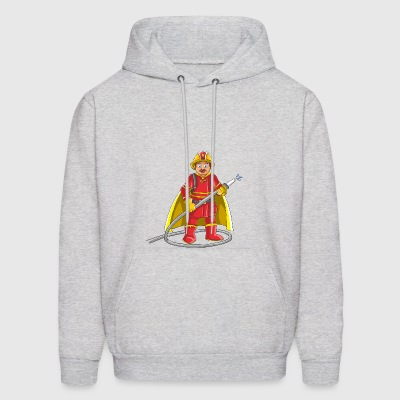 Firefighter hero - Men's Hoodie