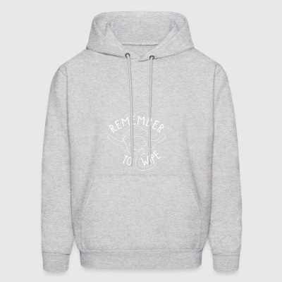 Cat butts/trends Remember to Wipe gift - Men's Hoodie
