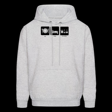 Eat, sleep, chemistry - Men's Hoodie