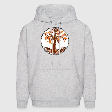 Fall Tree - Men's Hoodie