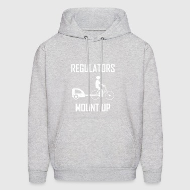 regulators mount up - Men's Hoodie