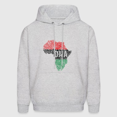 DNA AFRO MAP - Men's Hoodie