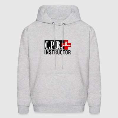CPR INSTRUCTOR NEW FONT - Men's Hoodie