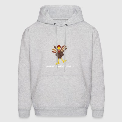 Funny turkey Design shirt - Men's Hoodie