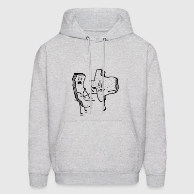 GREY DON T CALIFORNIA MY TEXAS - Men's Hoodie