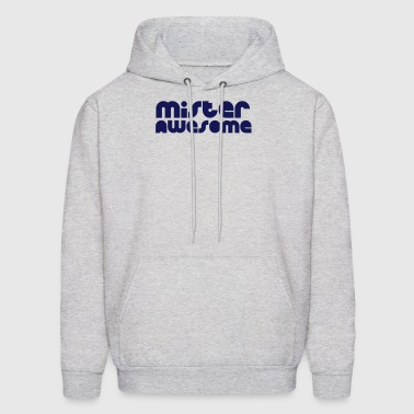 mister awesome - Men's Hoodie