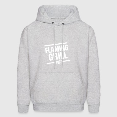 Flaming Grill - Men's Hoodie