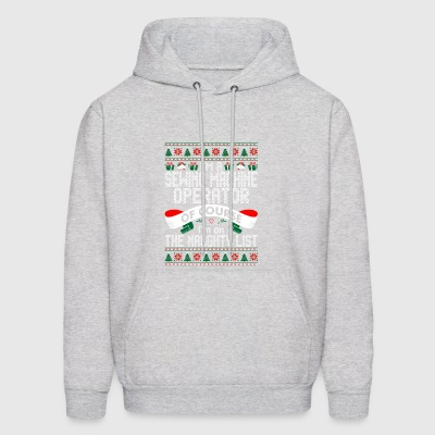 Im Sewing Machine Operator OfCourse Im Naugty List - Men's Hoodie