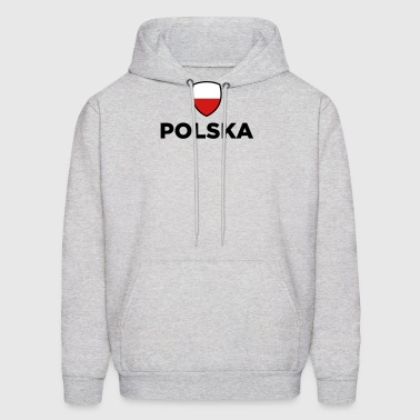 National Flag of Poland - Men's Hoodie