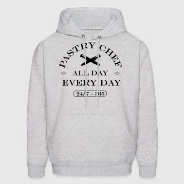 Pastry Chef All Day Every Day - Men's Hoodie