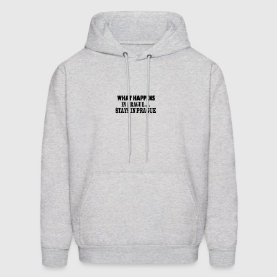 What Happens In Prague Stays In Prague - Men's Hoodie
