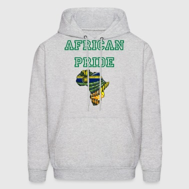 Africa Logo Kaftan Colorway - Men's Hoodie