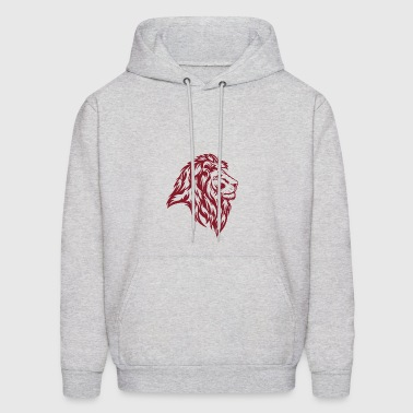 Lion Red - Men's Hoodie