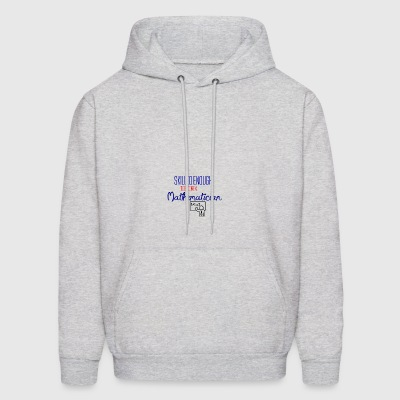 Being a Mathematician - Men's Hoodie