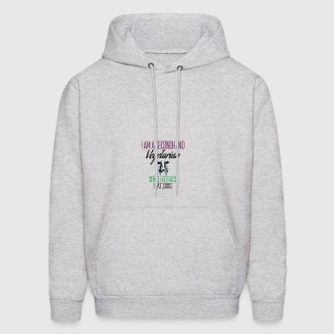 I am a secondhand vegetarian - Men's Hoodie