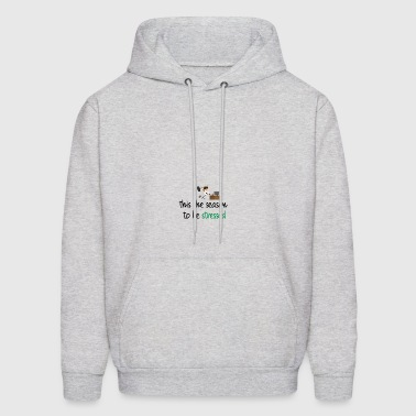 This the season to be stressed - Men's Hoodie
