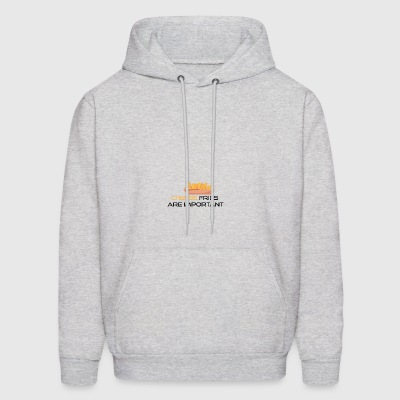 Cheese fries are important - Men's Hoodie