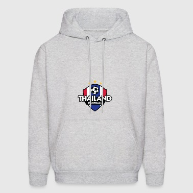 Football Logo Of Thailand - Men's Hoodie