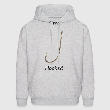 Fish hook2 - Men's Hoodie