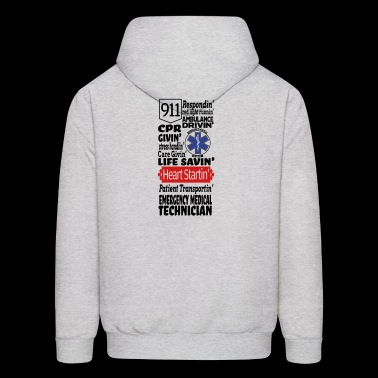 Emergency Medical Technician EMT - Men's Hoodie