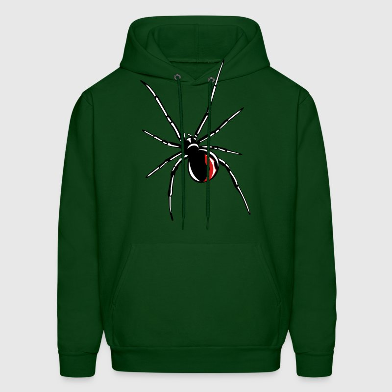 Black widow spider - Men's Hoodie