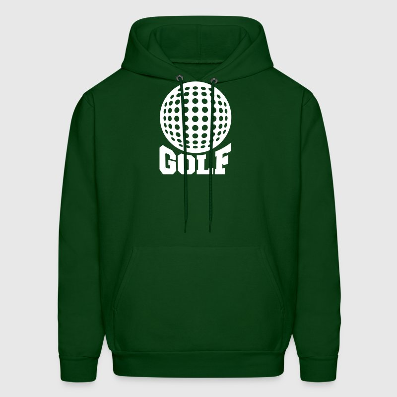 Golf unicolor - Men's Hoodie