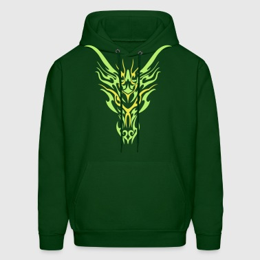 Tribal Dragon - Men's Hoodie