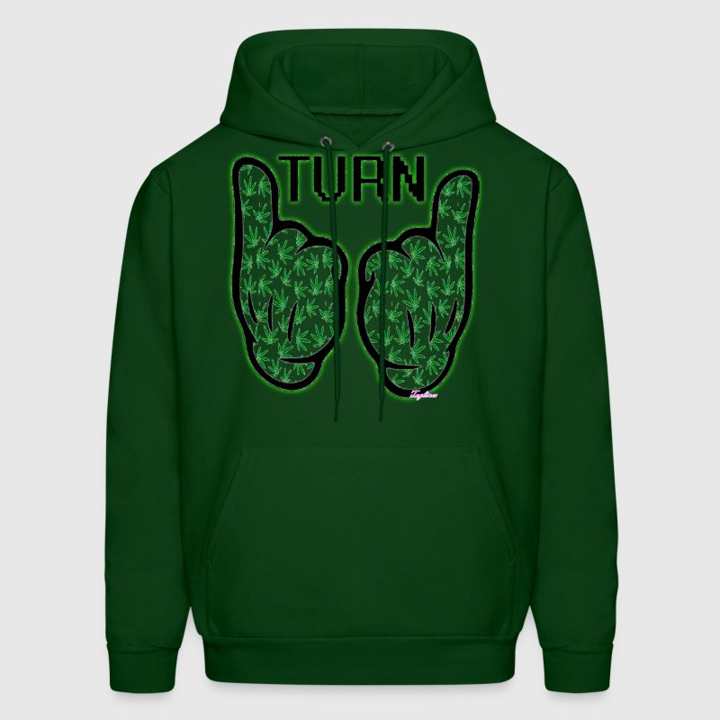 TurnUp Mickey Mouse Dope Hands | WIZ KHALIFA - Men's Hoodie