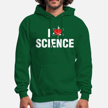Geek I love Science - Men's Hoodie