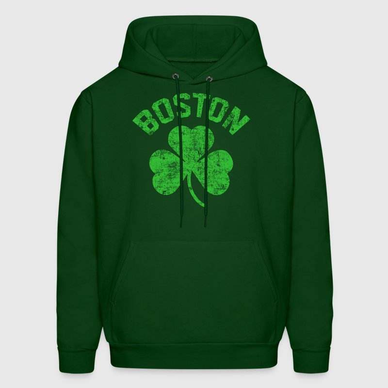 Boston Green - Men's Hoodie