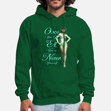 Once You Go Elf... - Men's Hoodie