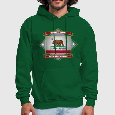 CALIFORNIA Republic The Golden State - Men's Hoodie