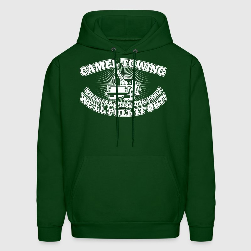 Camel Towing Pull It Out - Men's Hoodie
