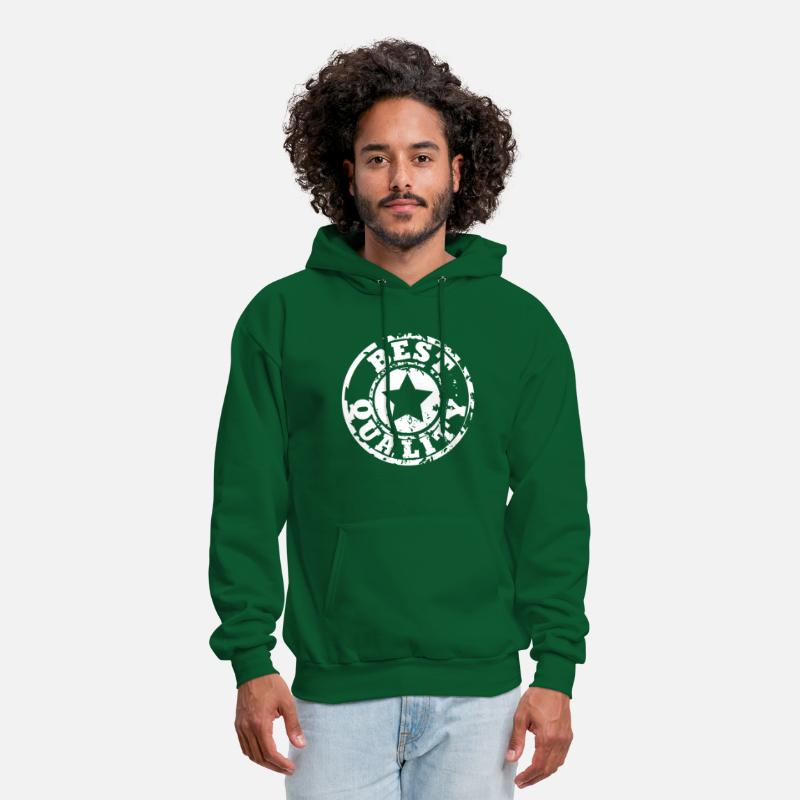 Best Hoodies & Sweatshirts - Best quality - Men's Hoodie forest green