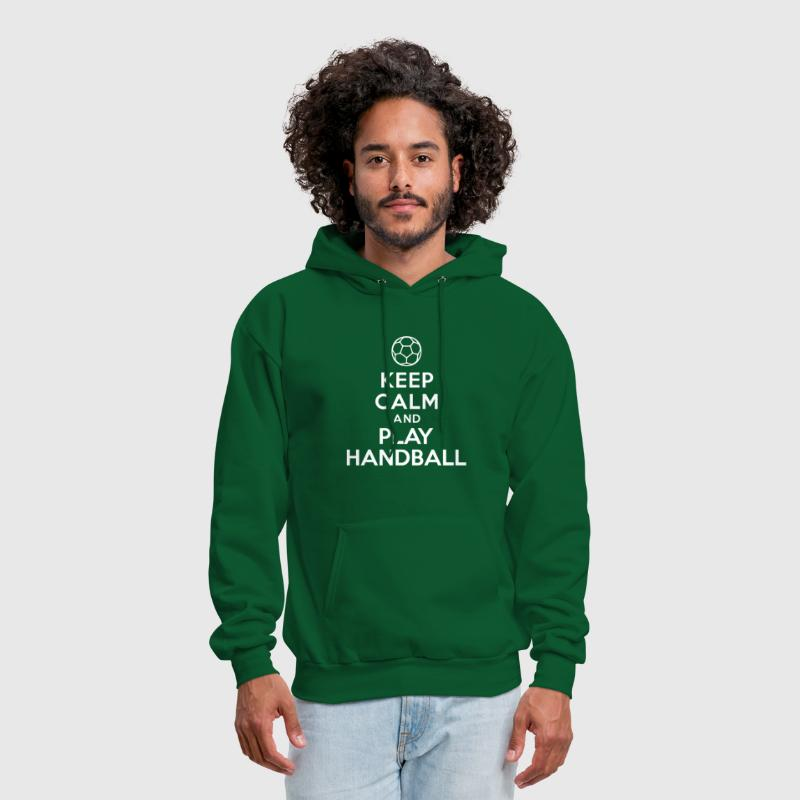 Keep calm and play Handball - Men's Hoodie