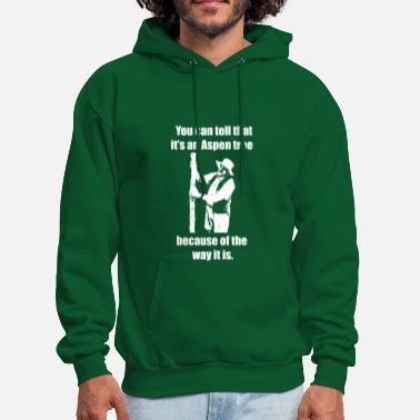 Aspen You can tell that it's an Aspen... Hoodie - Men's Hoodie