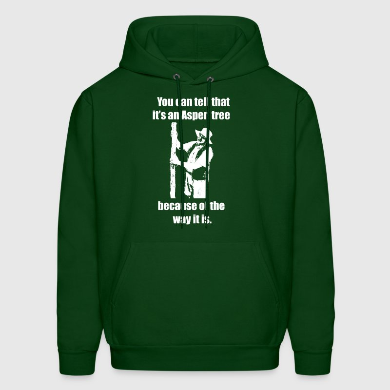You can tell that it's an Aspen... Hoodie - Men's Hoodie