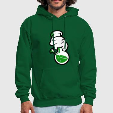 (fingers_with_bottle_png) - Men's Hoodie