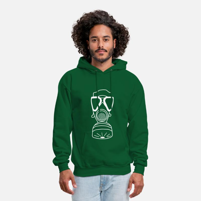 Military Hoodies & Sweatshirts - German Military - Men's Hoodie forest green
