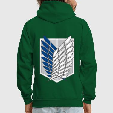 Attack on Titans Recon Corps Logo - Men's Hoodie