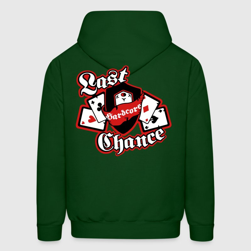 Poker Cards and Aces High - Men's Hoodie