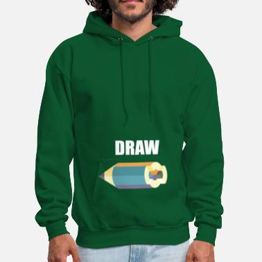 Drawing DRAW - Men's Hoodie