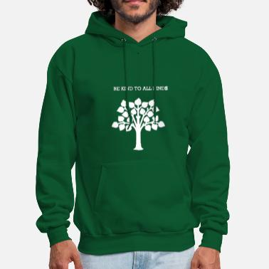 Kind,nature,vegan,organic,healthy living,fun,shirt - Men's Hoodie