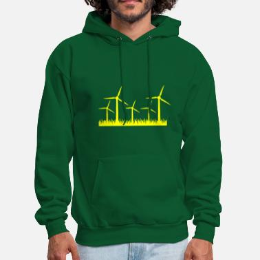 Wind Energy Renewable Energy - Wind Energy T-Shirt Design - Men's Hoodie